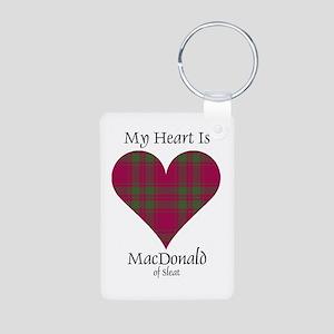 Heart - MacDonald of Sleat Aluminum Photo Keychain
