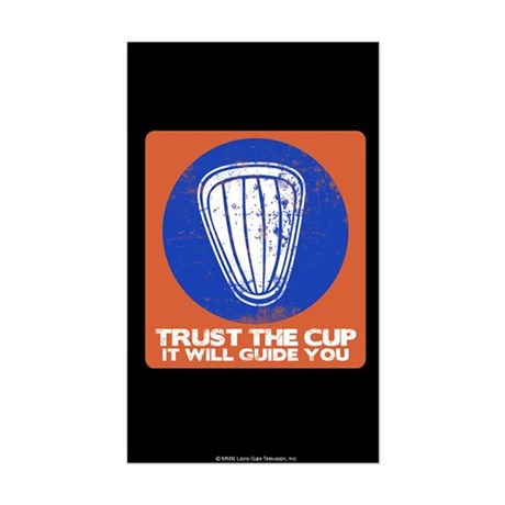 Blue Mountain State Captain's Cup Sticker