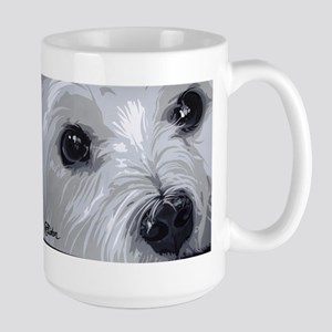 Westie face close Mugs