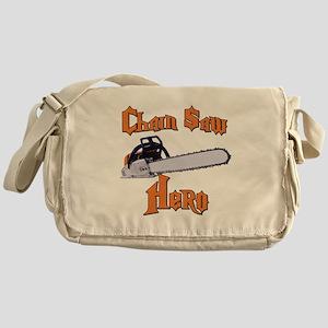 Chain Saw Hero Chainsaw Messenger Bag
