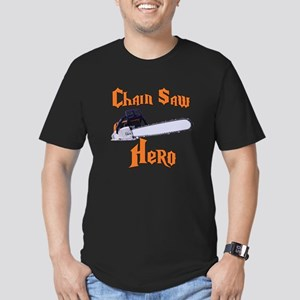 Chain Saw Hero Chainsaw Men's Fitted T-Shirt (dark