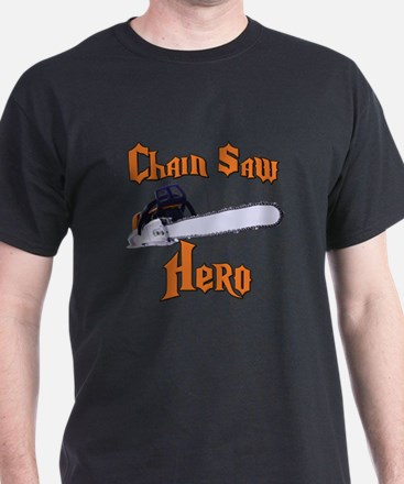 Chain Saw Hero Chainsaw T-Shirt