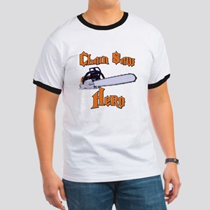 Chain Saw Hero Chainsaw Ringer T