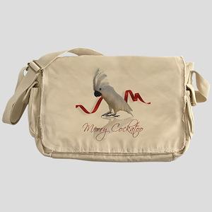 merry cockatoo Messenger Bag