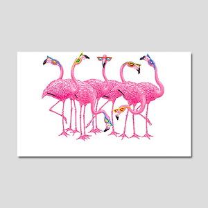 Cool Flamingoes Car Magnet 20 x 12