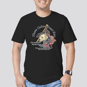 American Watchdog Men's Fitted T-Shirt (dark)