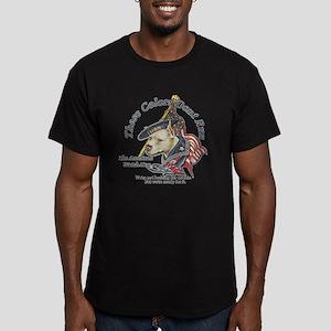 American Watchdog Men's Fitted T-Shirt (dark)