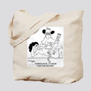 An 8 Pound Court Reporter Tote Bag