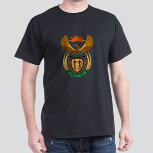 South Africa Coat of Arms Crest Dark T-Shirt