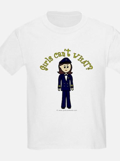 Light Airline Pilot T-Shirt