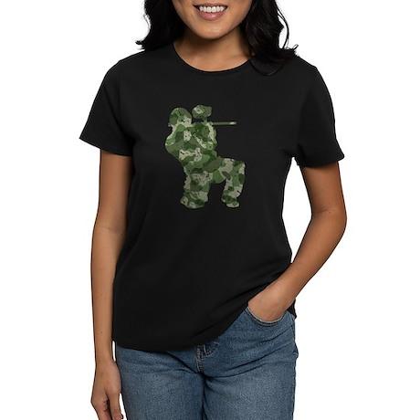 Worn, Camo Paintball Women's Dark T-Shirt
