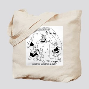 Early Court Reporting Tote Bag