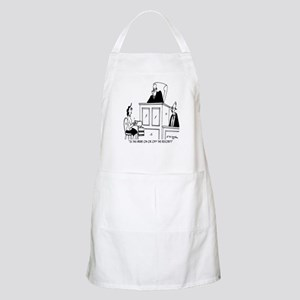Is This Bribe Off The Record? Apron