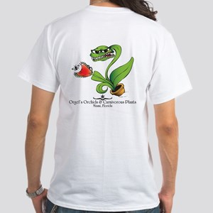 Orgel's Orchids White T-Shirt