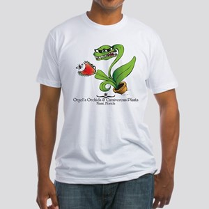 Orgel's Orchids Fitted T-Shirt