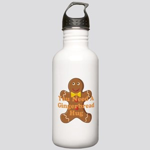 Gingerbread Hug Stainless Water Bottle 1.0L