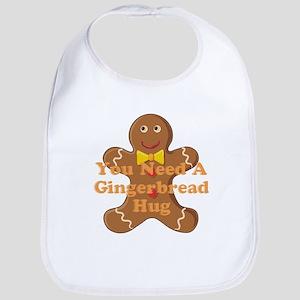 Gingerbread Hug Bib