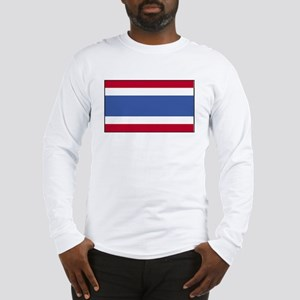 Thailand Flag Long Sleeve T-Shirt
