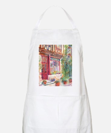 French Store Front European Art Apron