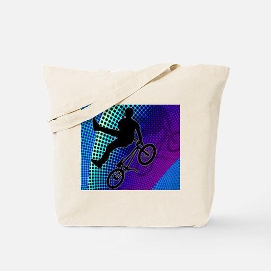 Funny Mens bicycle Tote Bag