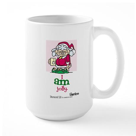 I AM Jolly Large Mug