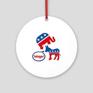 Teabagger Tea Party Republican Elephant Politics O