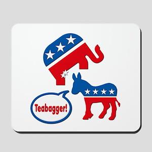 Teabagger Tea Party Republican Elephant Politics M