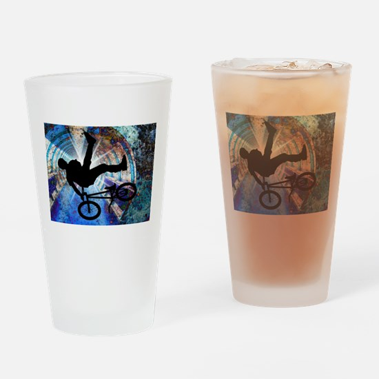 Cycling mens Drinking Glass