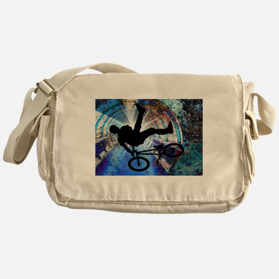Unique Grunge Messenger Bag