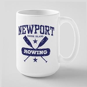 Newport Rhode Island Rowing Large Mug