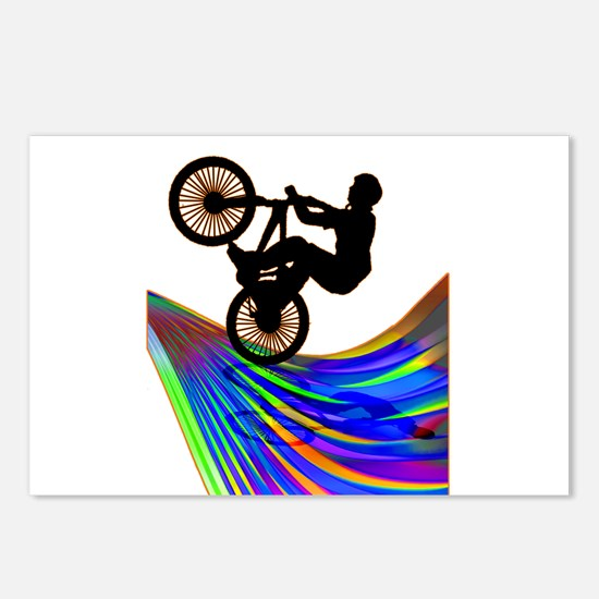Funny Bmx Postcards (Package of 8)