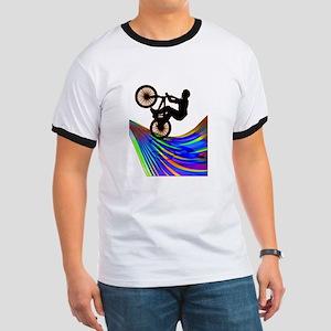 BMX on a Rainbow Road T-Shirt