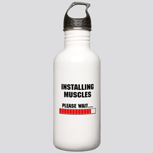 Installing Muscles Stainless Water Bottle 1.0L