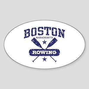 Boston Rowing Sticker (Oval)