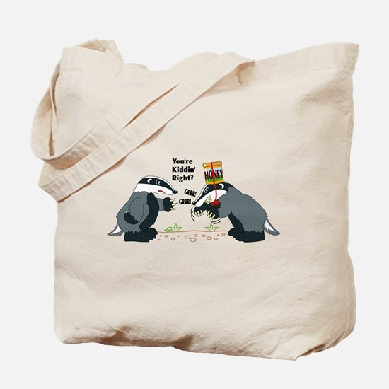 Honey Badger Wannabe Tote Bag