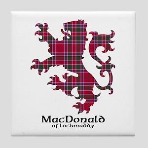 Lion - MacDonald of Lochmaddy Tile Coaster