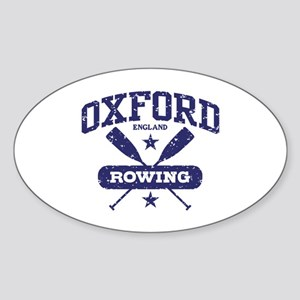 Oxford England Rowing Sticker (Oval)