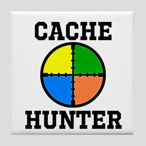 Cache Hunter Tile Coaster