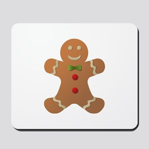 Gingerbread man Mousepad