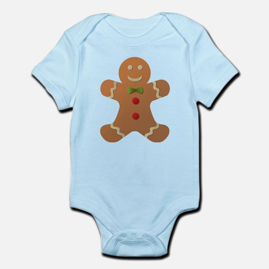 Gingerbread man Infant Bodysuit