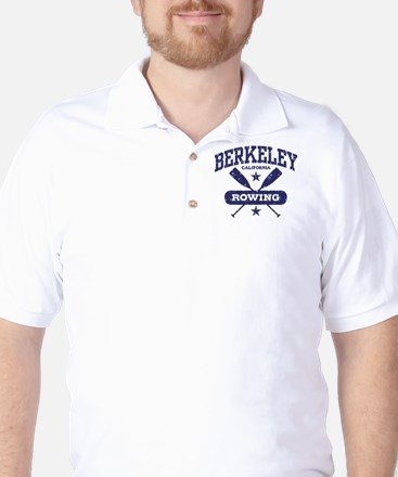 Berkeley California Rowing Golf Shirt