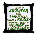 Sweater Throw Pillow