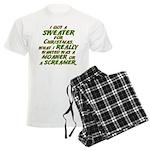 Sweater Men's Light Pajamas