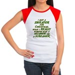 Sweater Women's Cap Sleeve T-Shirt