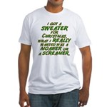 Sweater Fitted T-Shirt