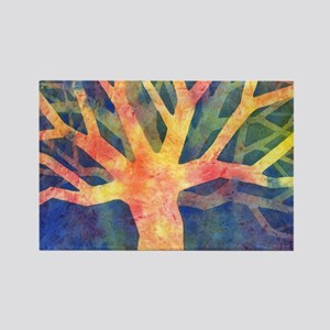 Tree of Giving Rectangle Magnet
