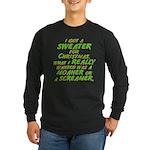 Sweater Long Sleeve Dark T-Shirt