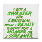 Sweater Tile Coaster
