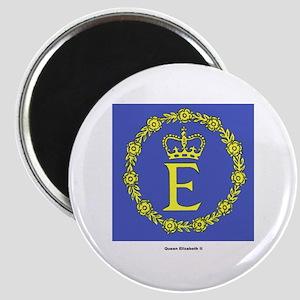 Queen Elizabeth II Flag Magnet