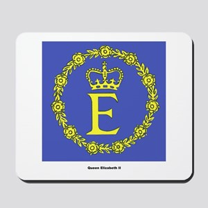 Queen Elizabeth II Flag Mousepad